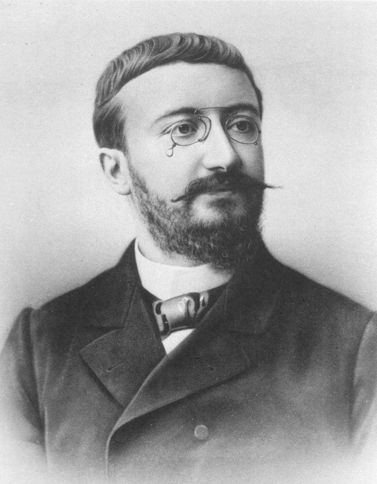 Portrait of Alfred Binet