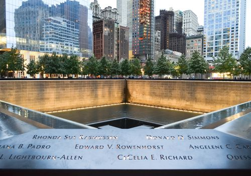 September 11 Memorial Pool, New York City