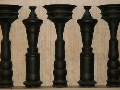 Vases and figures optical illusion