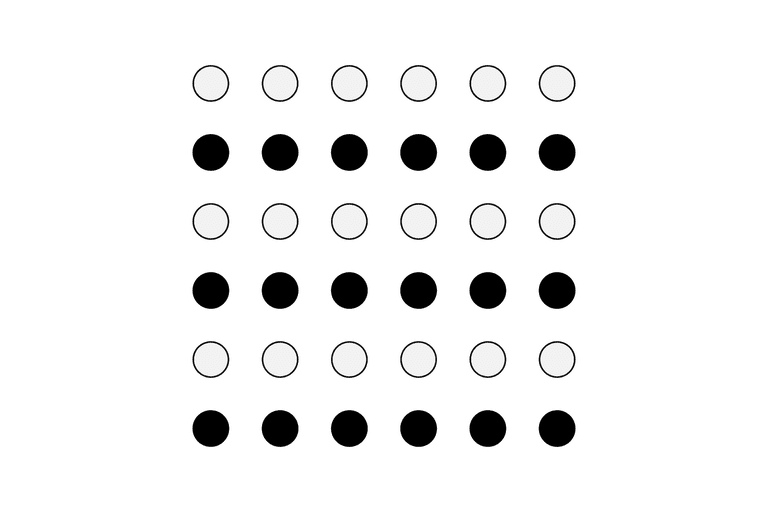 Gestalt law of similarity