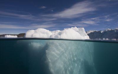 Iceberg Underwater in Ililussat