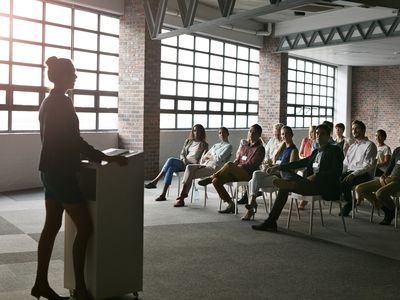 Learn how to become a confident public speaker.