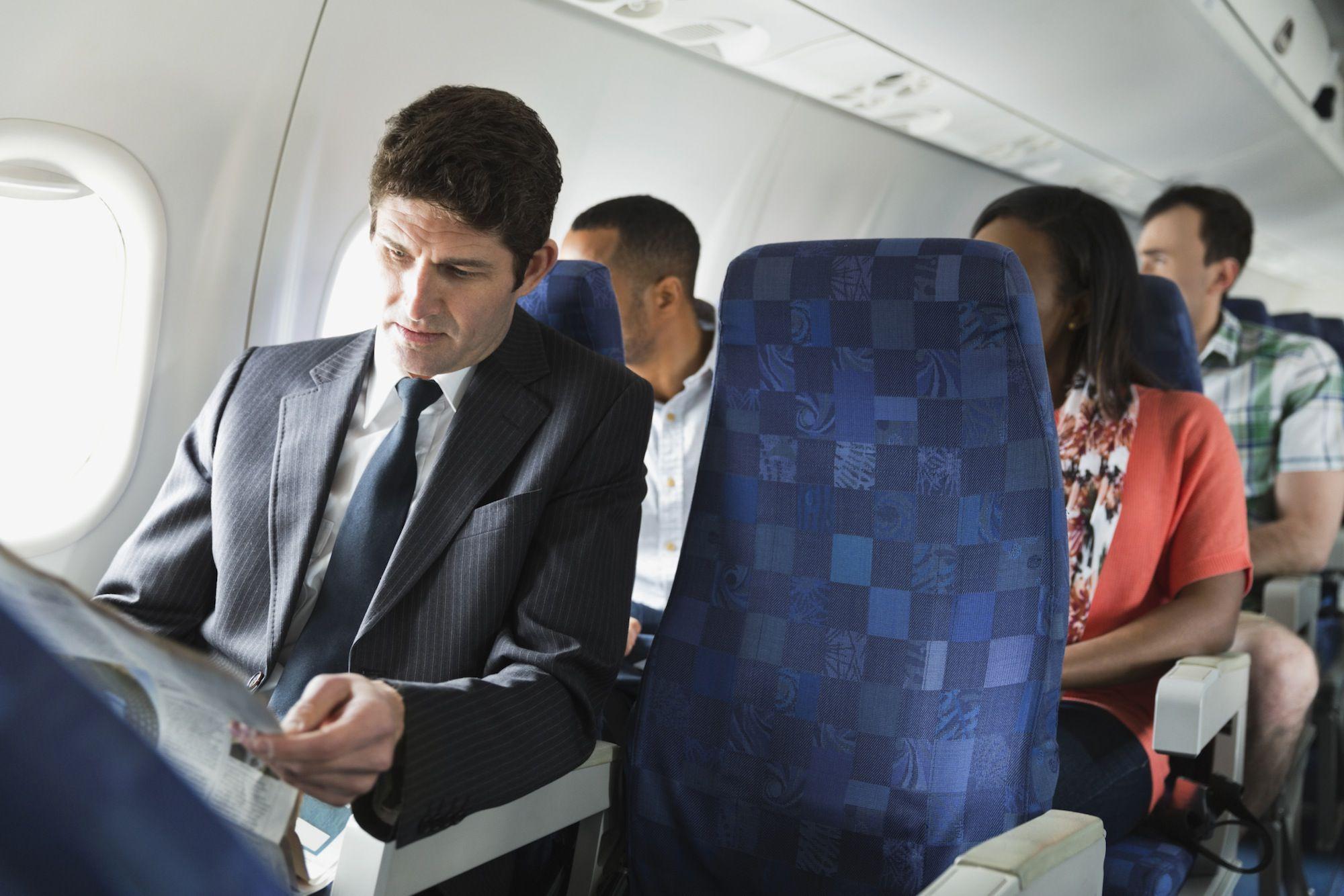 airplane phobia