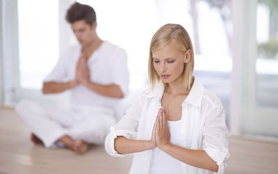Meditation is a highly effective route to relaxation.