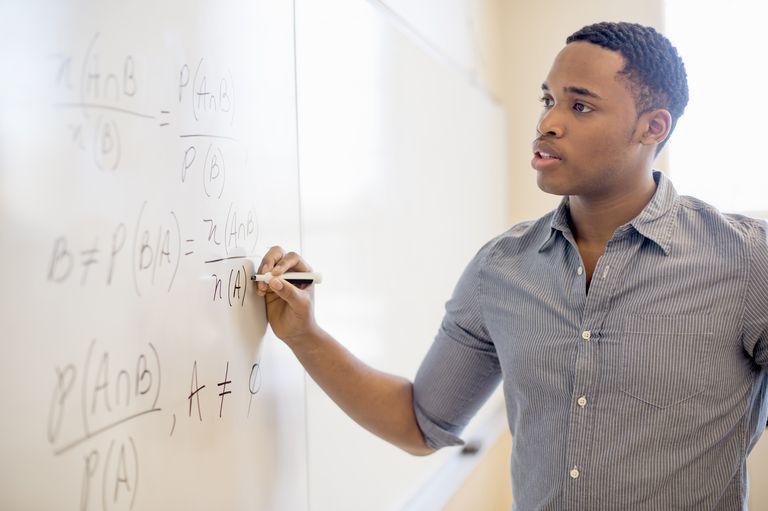 Male African American teacher