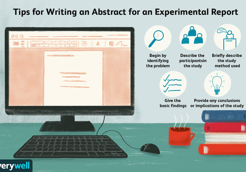 Tips for writing an abstract