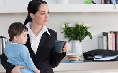 work-life balance for a mother