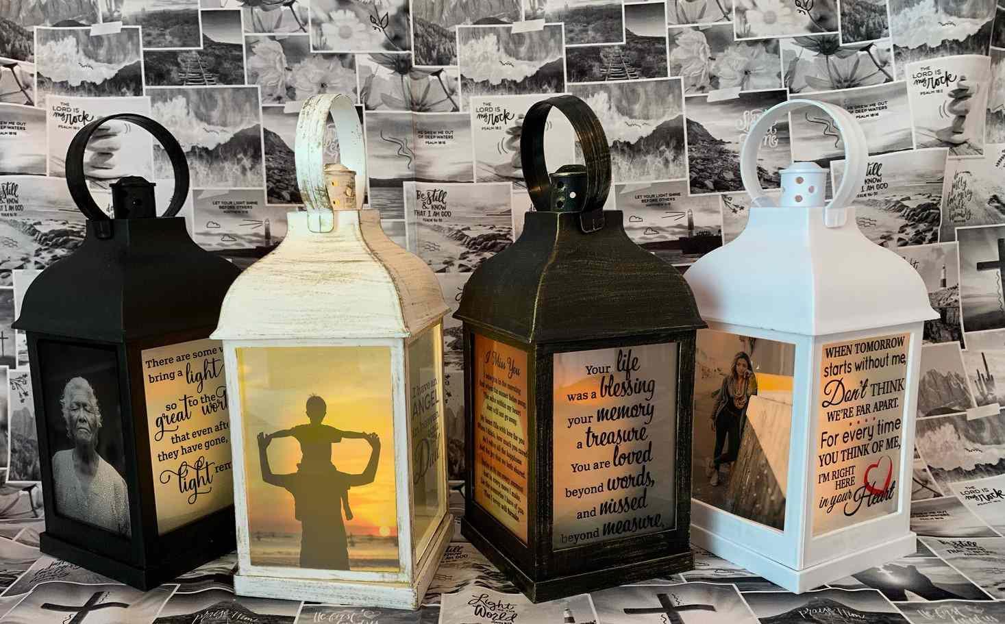 Memorial Gift Custom Lantern