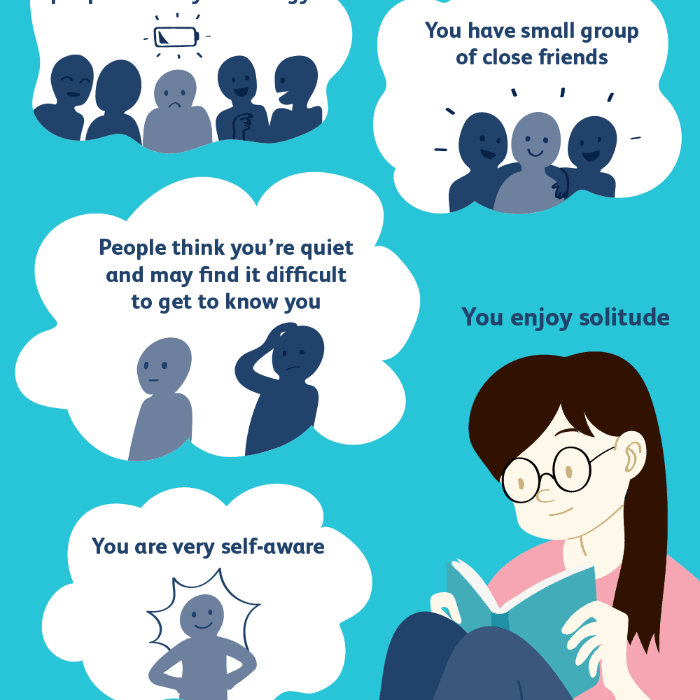 How You Can Tell That You're an Introvert