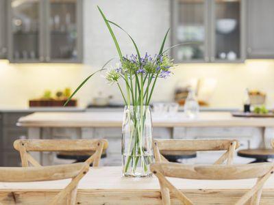 simple flowers in home