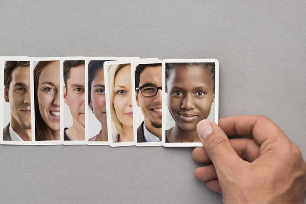 Images of people of different backgrounds