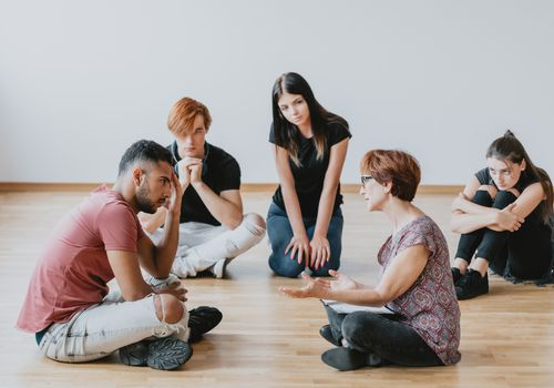 Drama therapy for teens