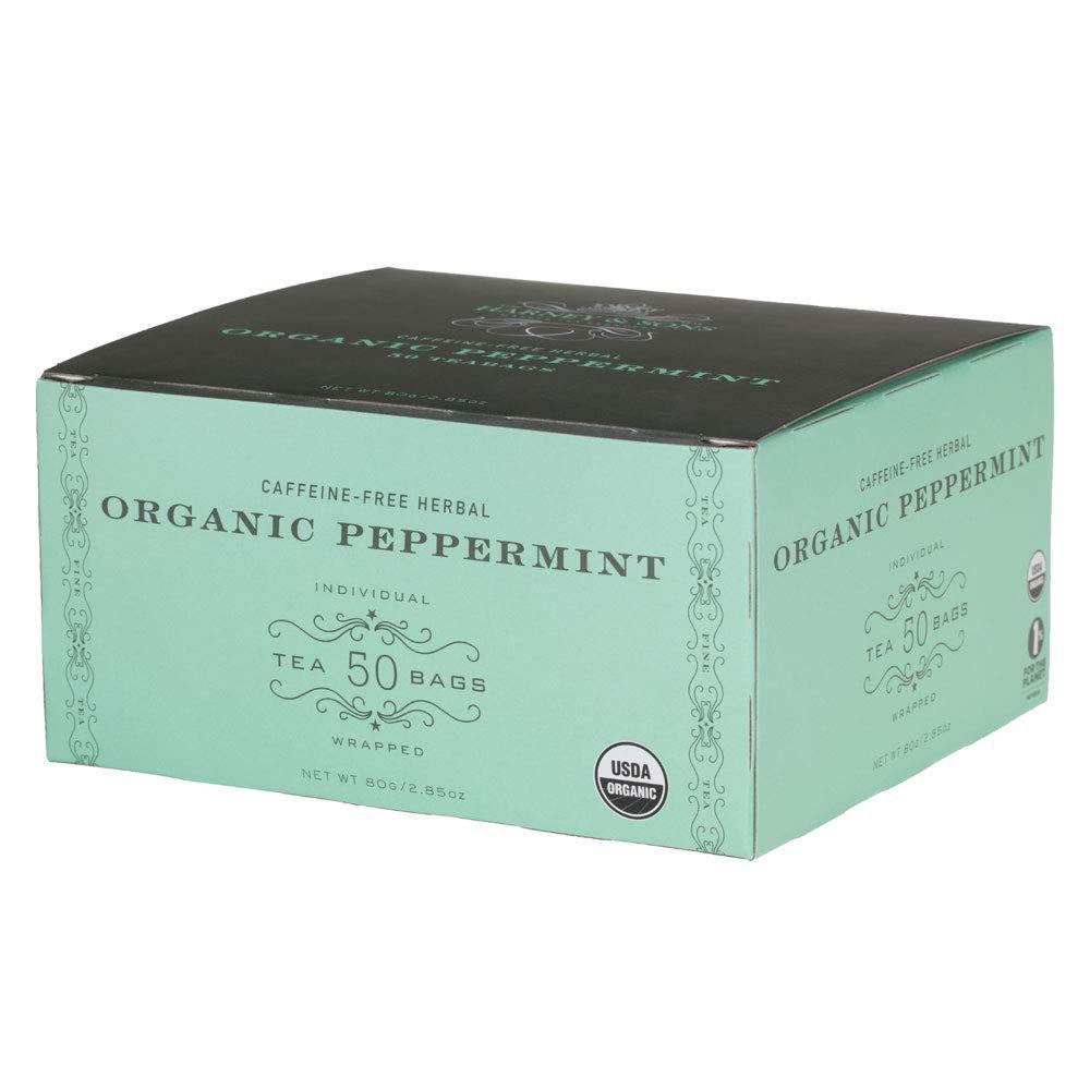 Harney & Sons Organic Peppermint Tea