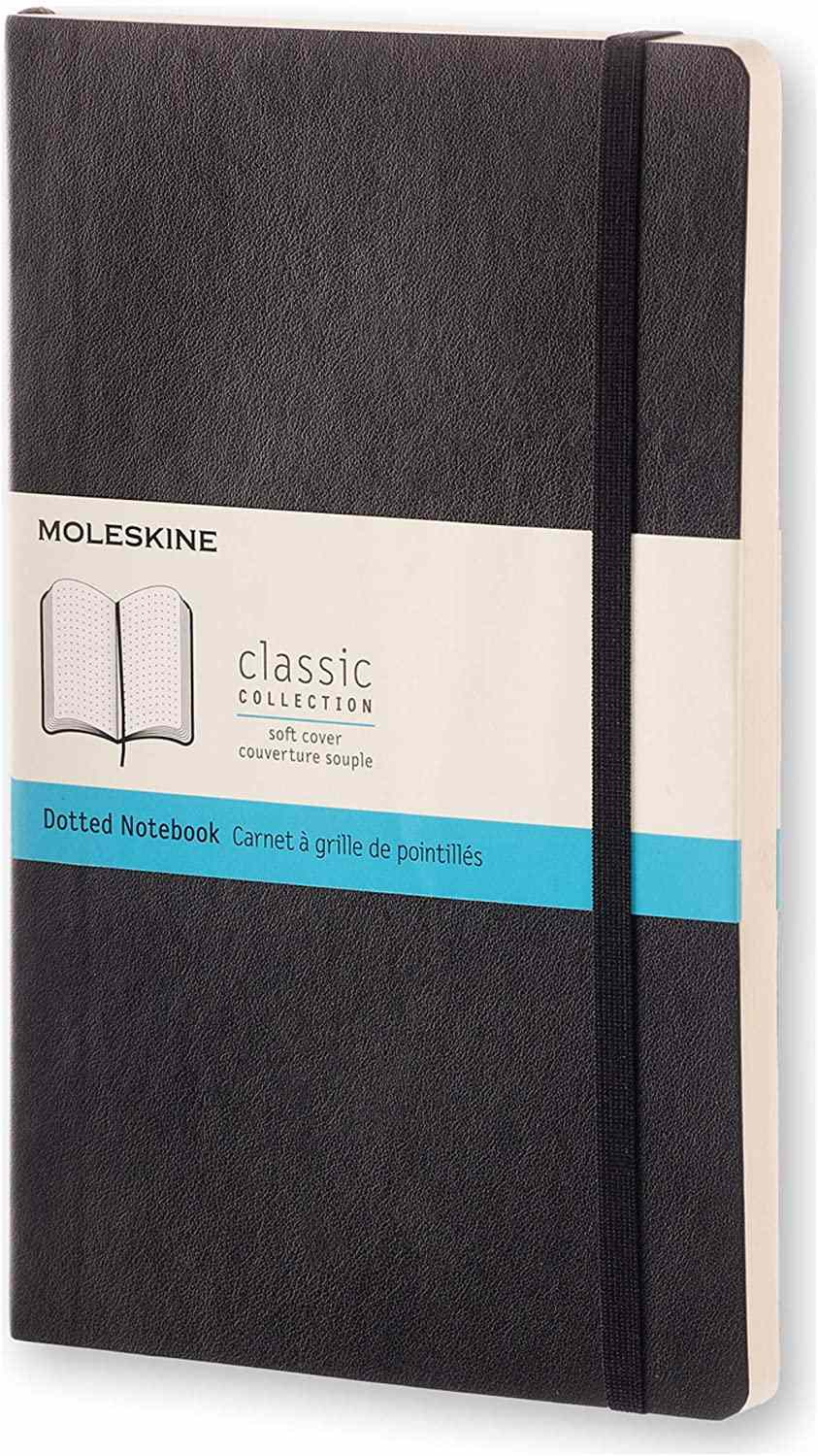 Moleskine Classic Soft Cover Dotted Notebook