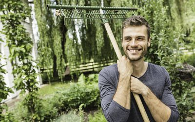 Gardening can be a great stress reliever.