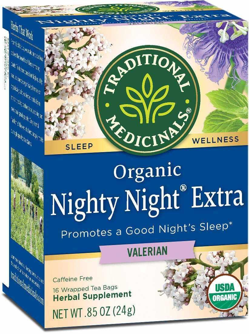 Traditional Medicinals Nighty Night Extra Valerian