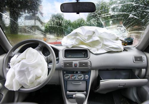 Deployed Vehicular Air Bags