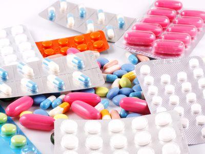 pile of atypical antipsychotic pills