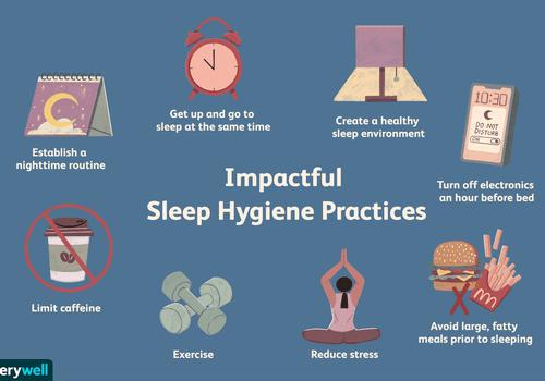 Sleep hygiene practices