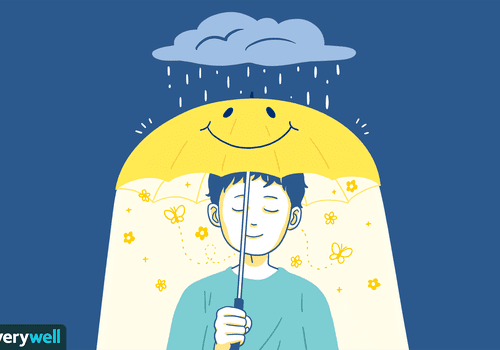 feel better by smiling illo