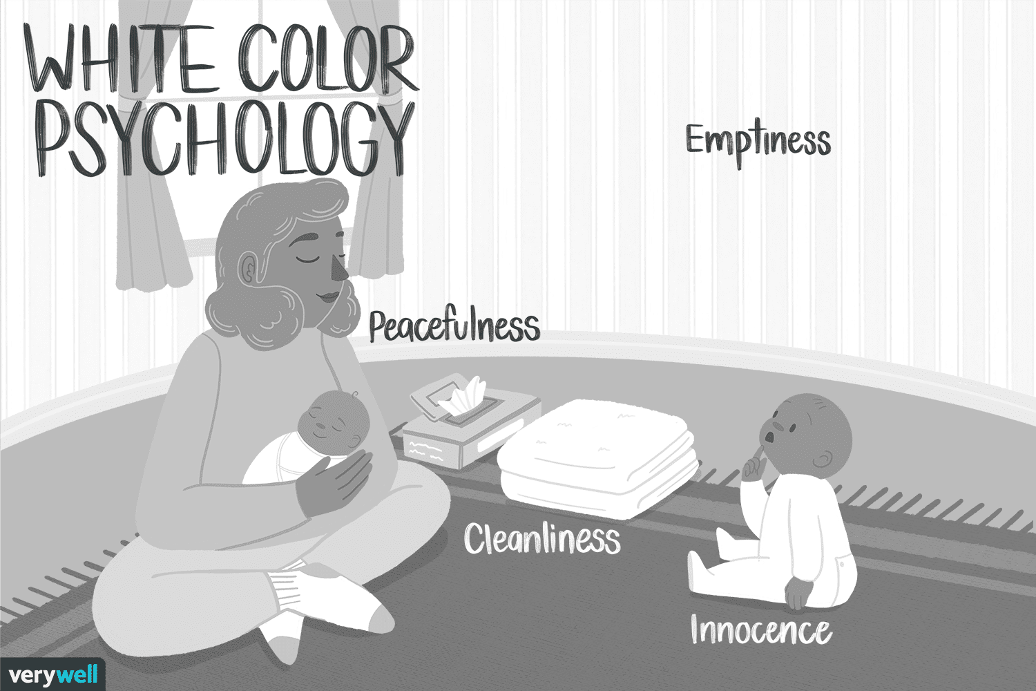 The color psychology of white