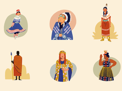 Examples of Indigenous People