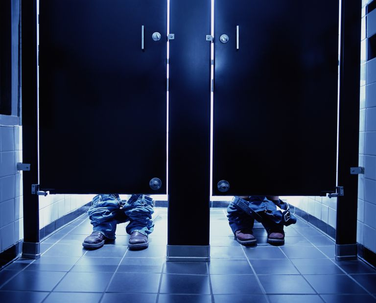 Paruresis is the fear of using public toilets.