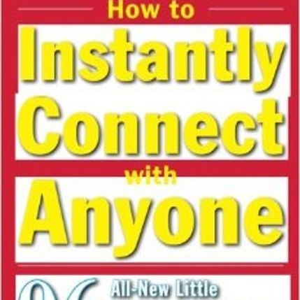 How to Instantly Connect with Anyone book cover