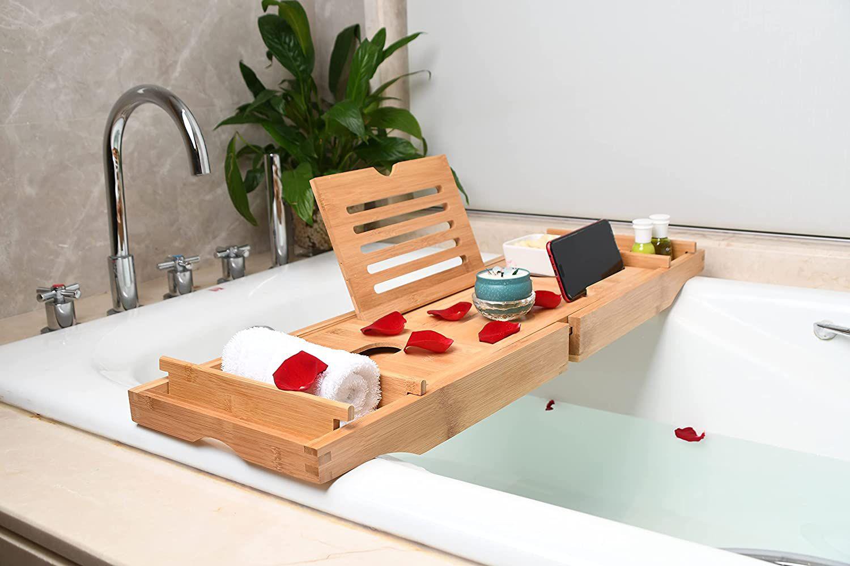 TSAYISI Bamboo Bathtub Tray