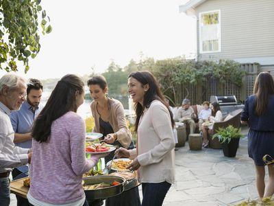 Family gatherings can be fun or stressful