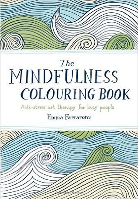 Coloring books can be used to help develop mindfulness.