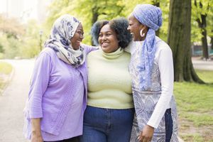 #MuslimGirls Spending Time With Their Mom