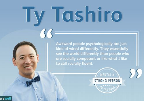 Ty Tashiro is the mentally strong person of the week.