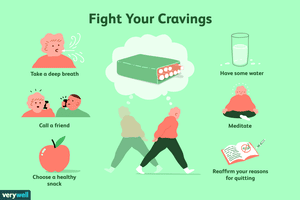 how to fight off cigarette cravings