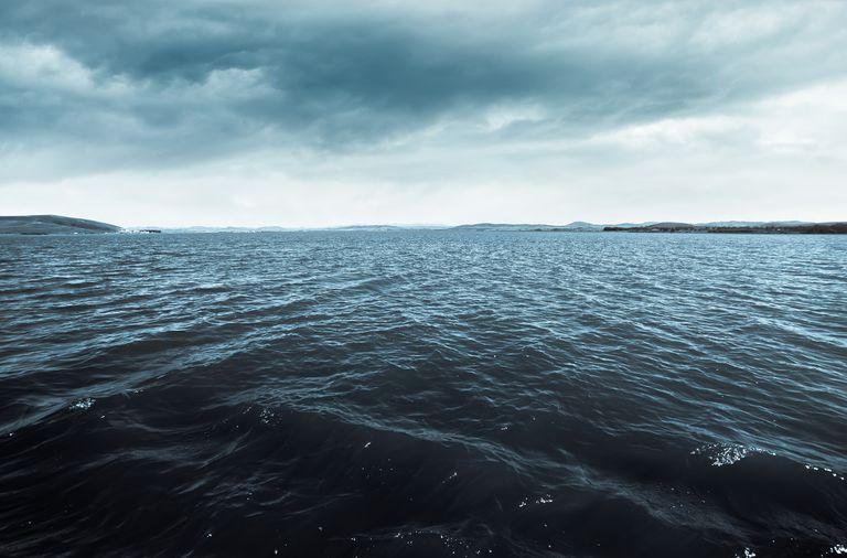The deep dark ocean