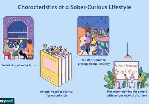Sober curious lifestyle