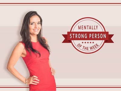 Danica McKellar is the mentally strong person of the week.