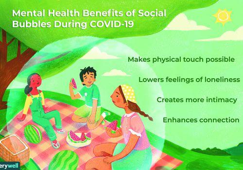 mental health benefits of a social bubble