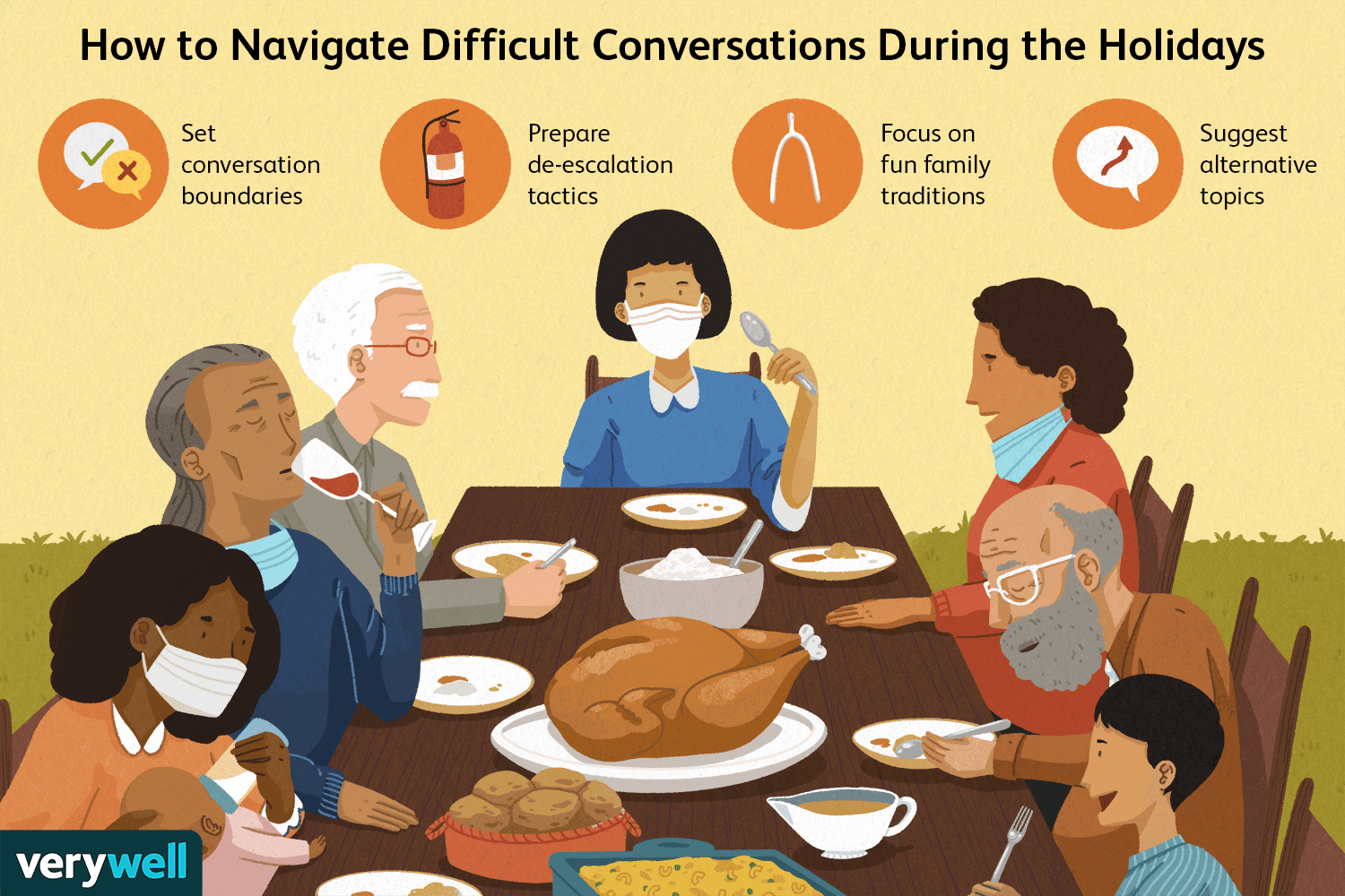 How to Navigate Difficult Conversations This Holiday Season