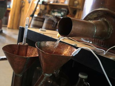 Kentucky Distillery Makes Total Eclipse Moonshine Celebrating The Upcoming Eclipse