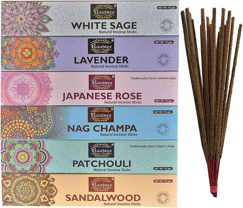 Hem Agarbatti Lavender Incense Sticks Natural Fragrance Original