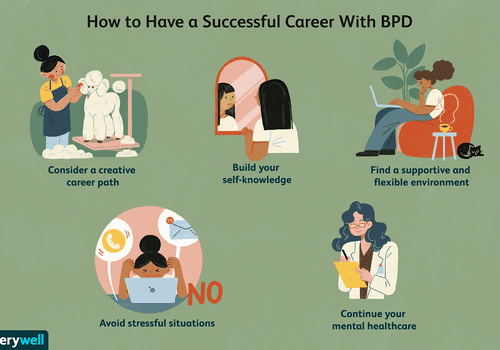 Tips to have a successful career with borderline personality disorder