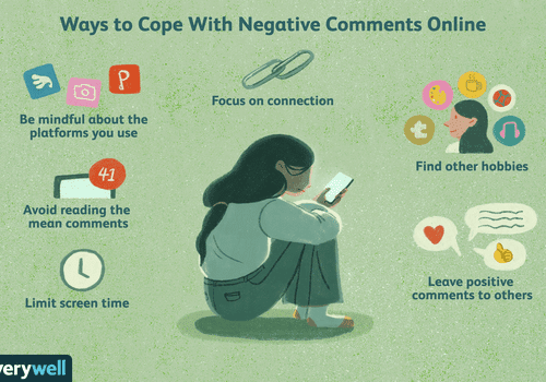 ways to cope with negative comments online