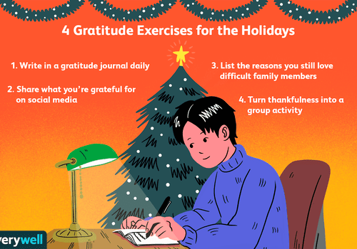 Gratitude exercises for the holidays