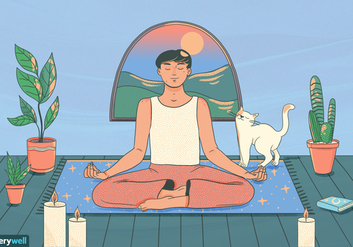 meditation illustration