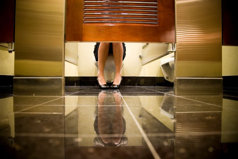 Public restrooms can cause fear among those with social anxiety.
