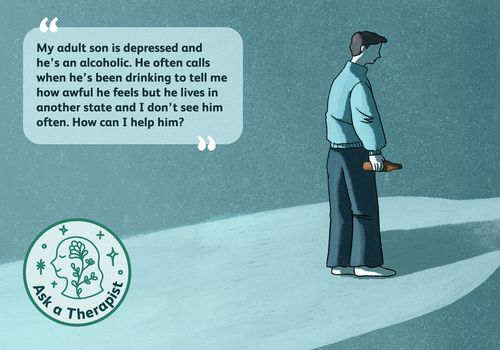 Ask a therapist, depressed son