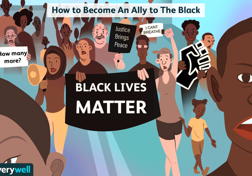 become an ally to black community