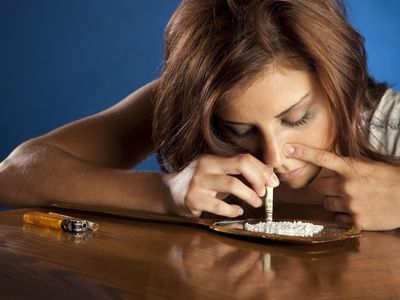 Mom Snorting Cocaine