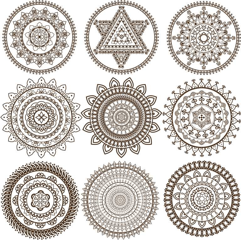 Mehandi Mandala Design Getty Images There Is A Growing Number Of Stress Relief Focused Coloring Books That Are Geared For Adult
